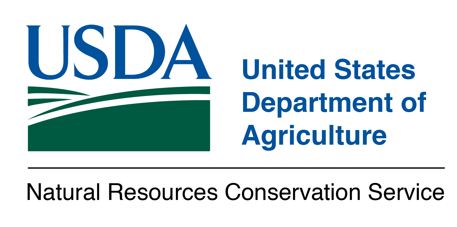 The United States Department of Agriculture - Natural Resources Conservation Service logo.