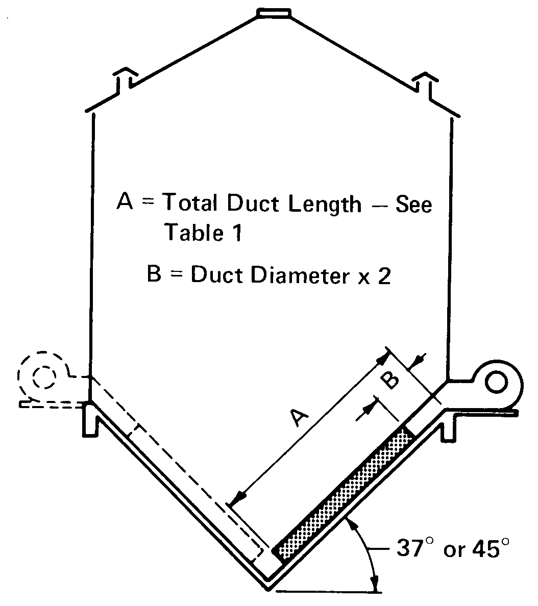 Aeration system for a cone-bottom round grain bin.