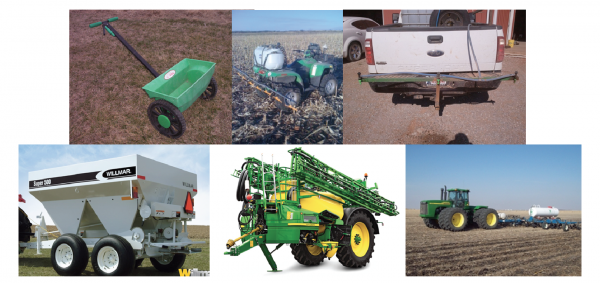 Nitrogen applicators