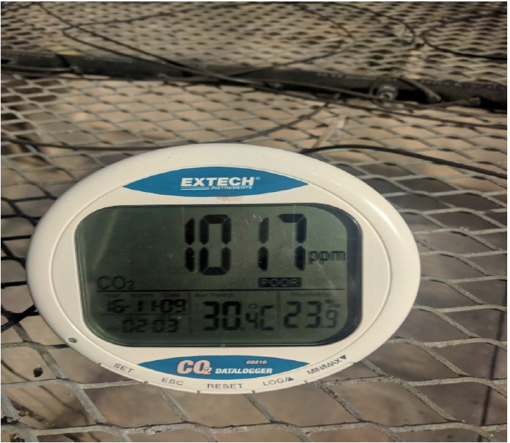 Extech CO2 Monitor.