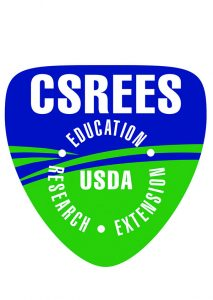 CSREES Education, Reasearch and Extension Logo.