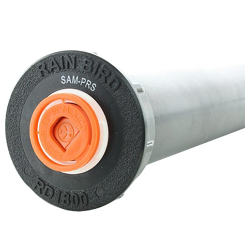 Figure 3. Example of a pressure-regulating sprinkler head. (photo from www.store.rainbird.com).