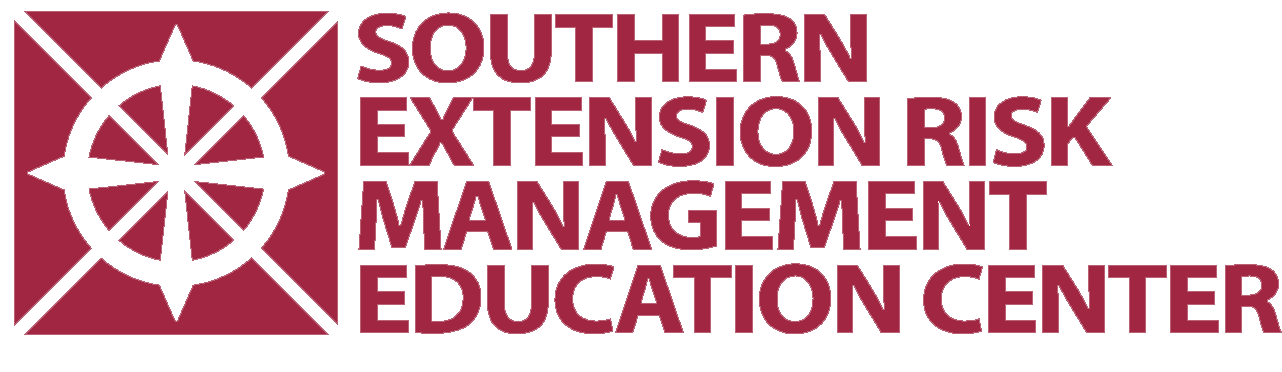 Southern Extension Risk Managment Education Center logo.